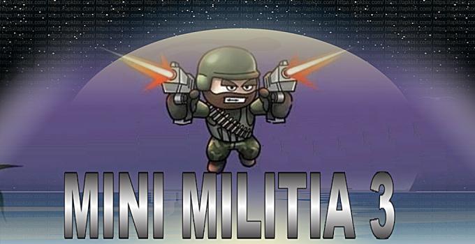 Doodle Army Mini Militia 3 Mod APK