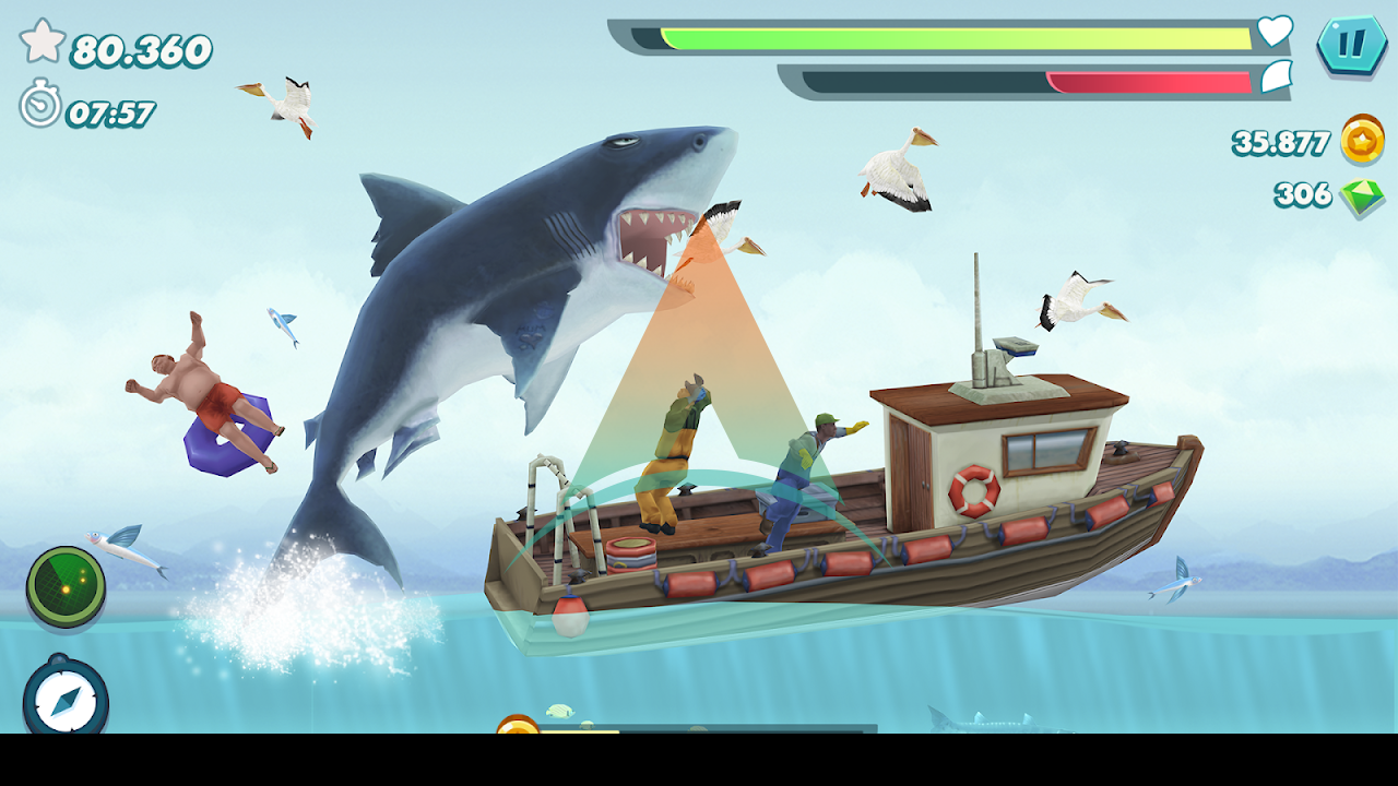 Hungry Shark Evolution Mod Apk Download v8.0.6 (Money/Gems/Coins) free on android 1