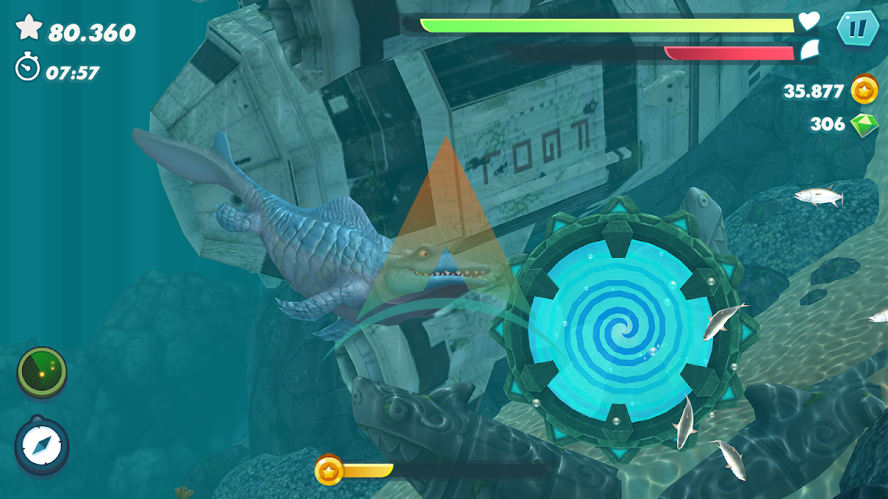 Hungry Shark Evolution Mod Apk Download v8.0.6 (Money/Gems/Coins) free on android 2