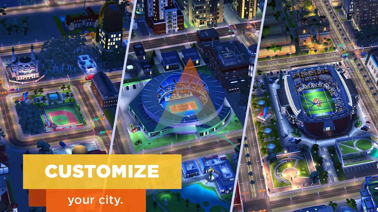 SimCity buildit mod apk v 1.35.1.97007(Money+Keys) Download on Android 1